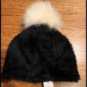 Anthropologie Faux Fur hat/beanie